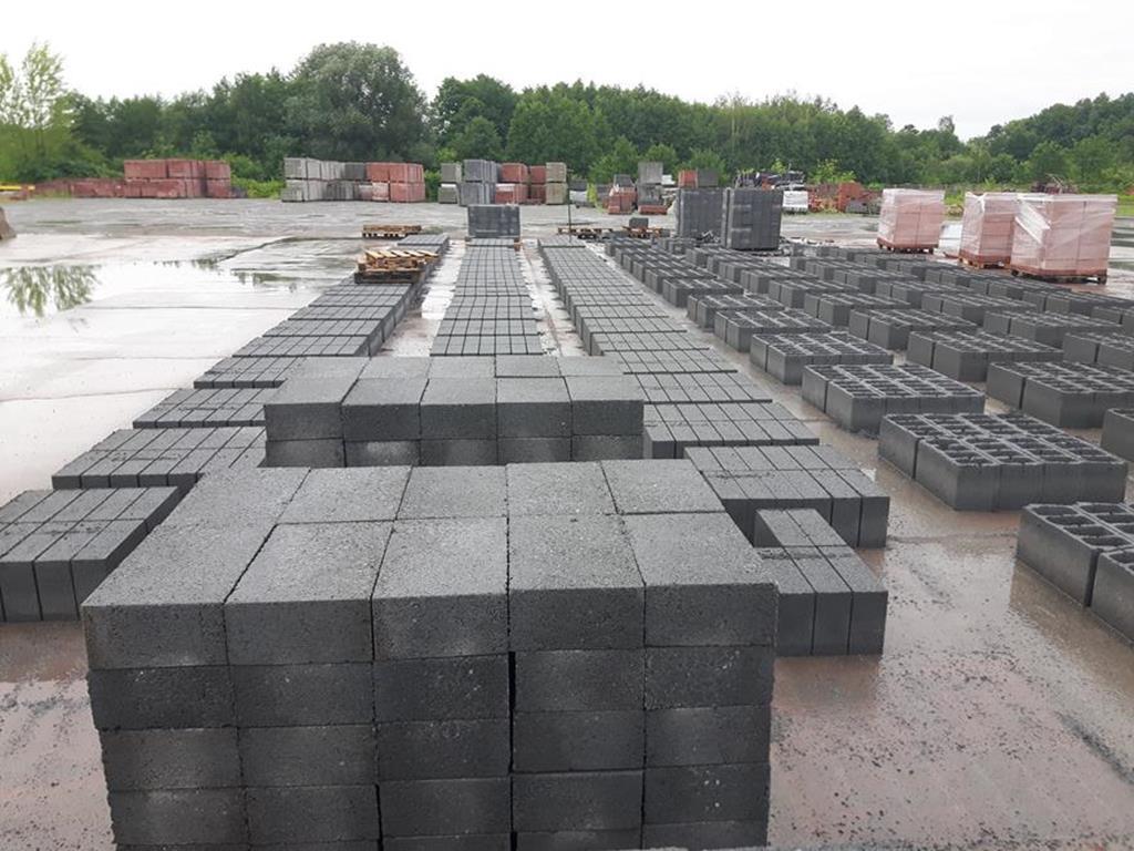 Bloczek Fundamentowy Bloczek Betonowy 38x24x12 cm