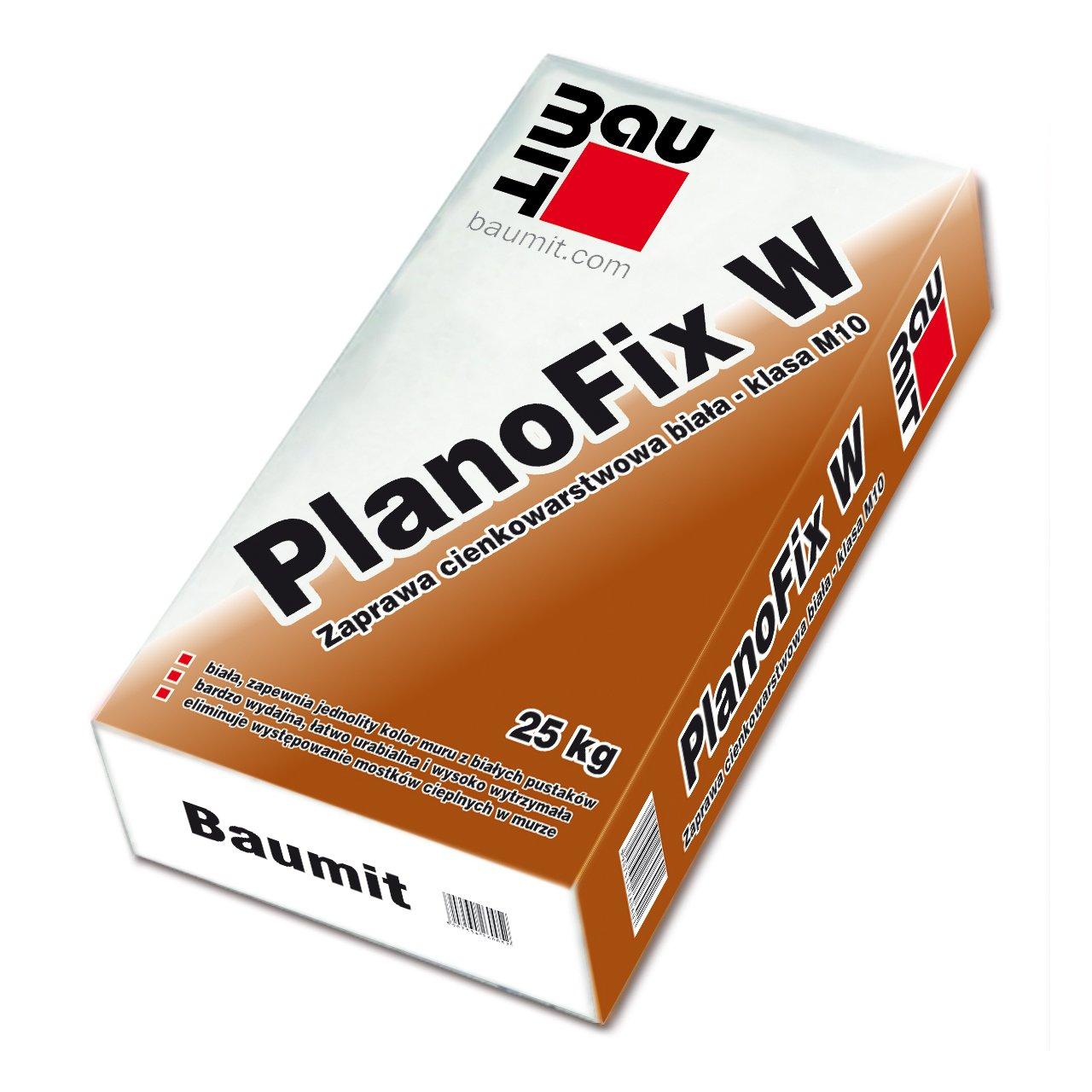Zaprawa Cienkowarstwowa PlanoFix  W Biała M10 – 25kg
