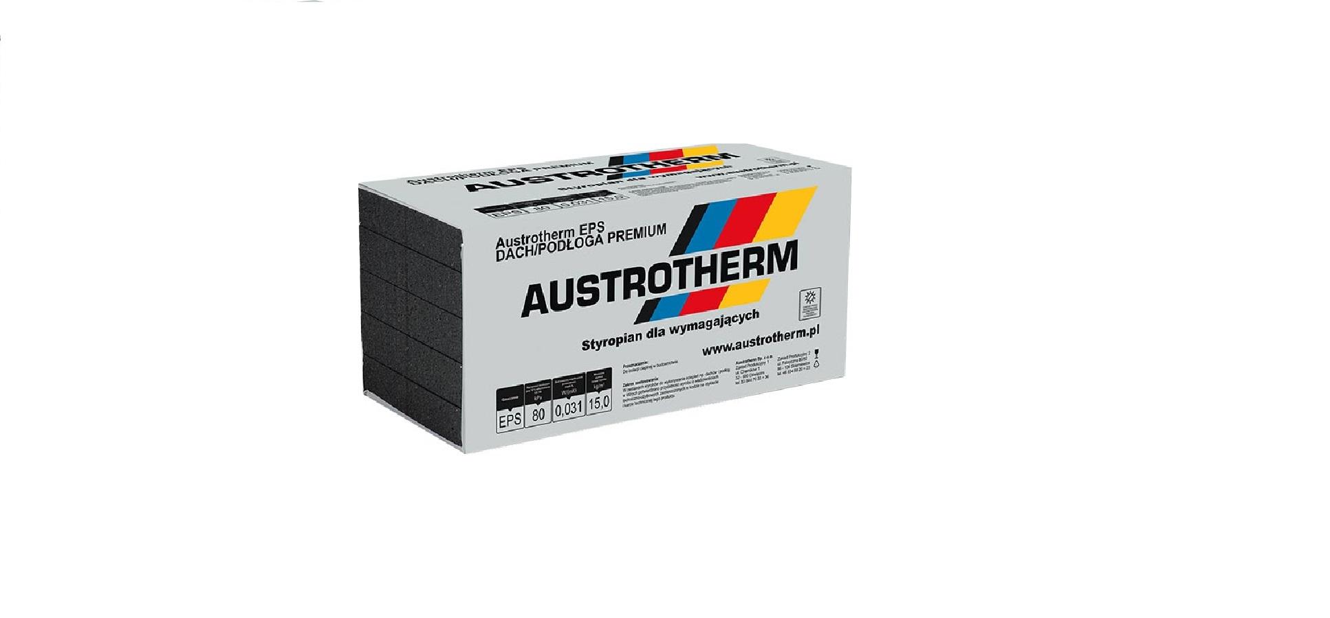Styropian  031 DACH/PODŁOGA Premium  grafitowy 1m3