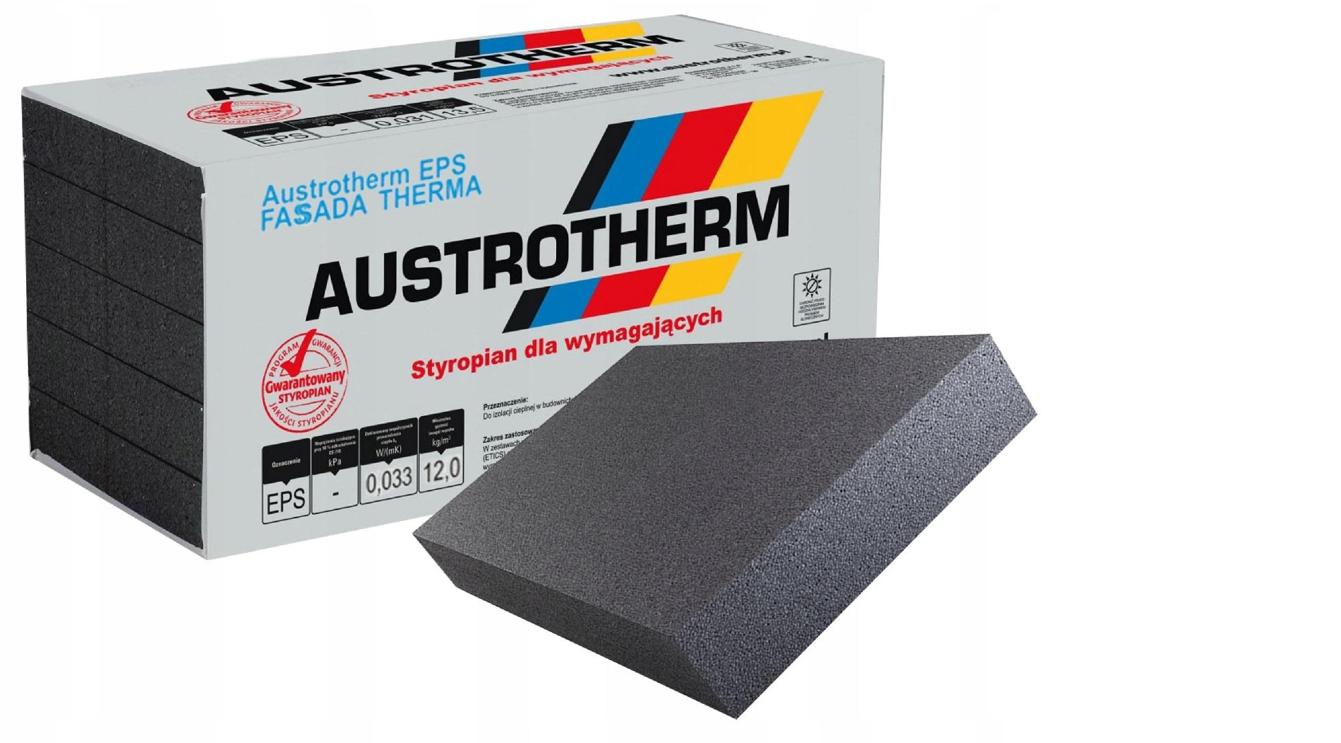 Styropian Austrotherm 033 FASADA THERMA Grafitowy 1m3