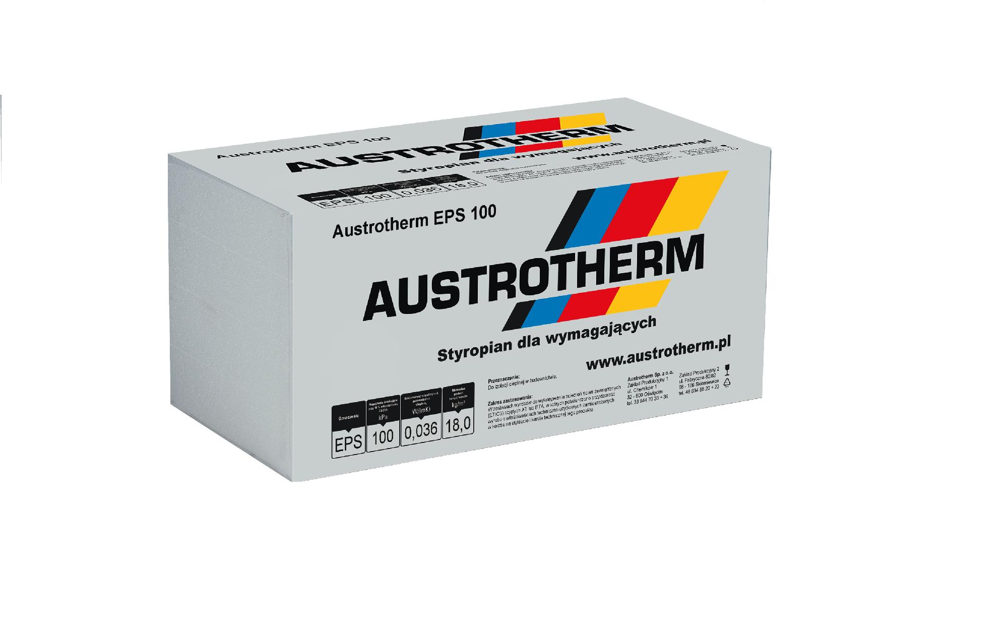 Styropian Austrotherm EPS 100 1m3 Dach/Podłoga