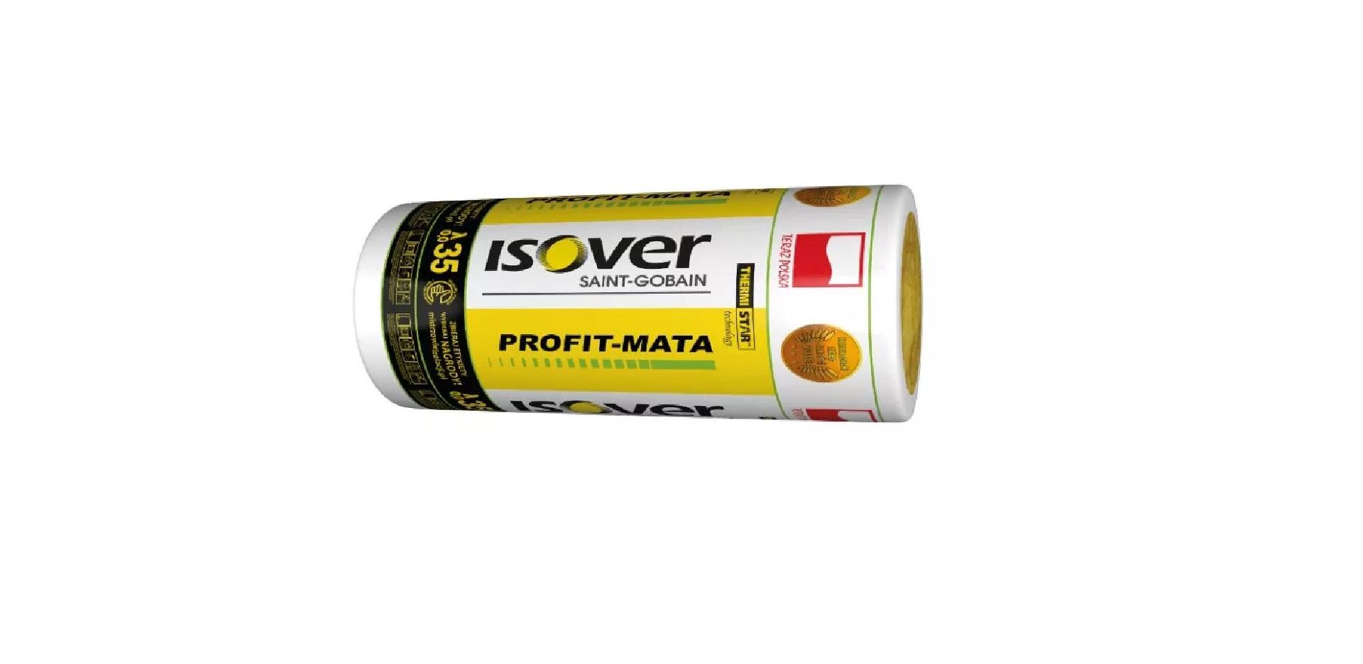 WEŁNA MINERALNA ISOVER Profit-mata 0,035 – 150mm